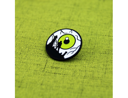Enamel Pins for Horror Scene