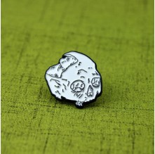 Custom Lapel Pins for  Skull