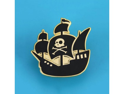 Pirate Ship Custom Lapel Pins