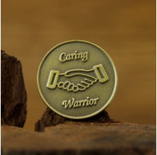 Caring Warrior Custom Pins