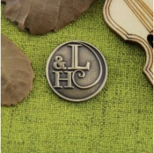 L and H Custom Lapel Pins