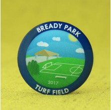 Park Turf field Lapel Pins