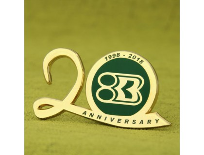 Anniversary Custom Lapel Pins