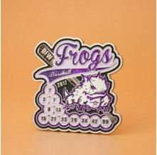 DFW Frogs Trading Pins