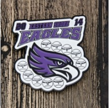 Eastern Shore Eagles Baseball Trading Pins
