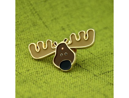 Enamel Pins for Reindeer