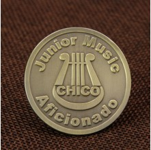 Music Aficionado Lapel Pins