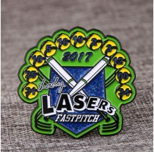 Lady Lasers Trading Pins
