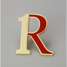 Letter R Custom Lapel Pins