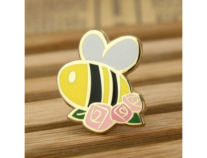 Bee Custom Enamel Pins