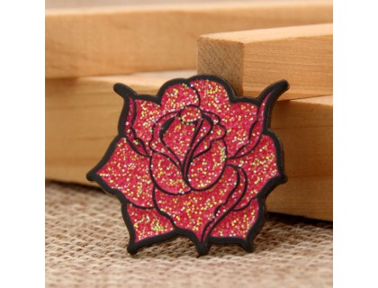 Rose Custom Enamel Pins
