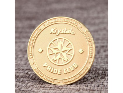Krystal Pride Club Lapel Pins
