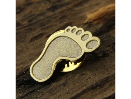 Foot Custom Lapel Pins