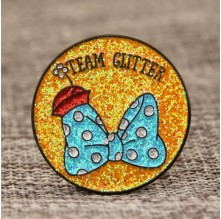 Team Glitter Custom Lapel Pins