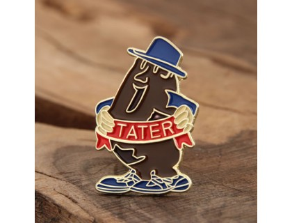 Tater Custom Lapel Pins
