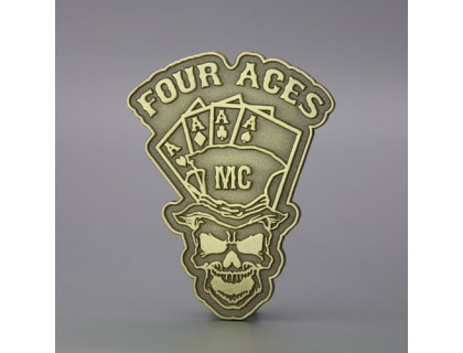 Four Aces Custom Lapel Pins
