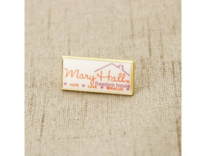 Mary Hall Custom Lapel Pins