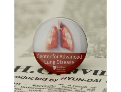 Stanford's Center for Advanced Lung Disease Custom Lapel Pins