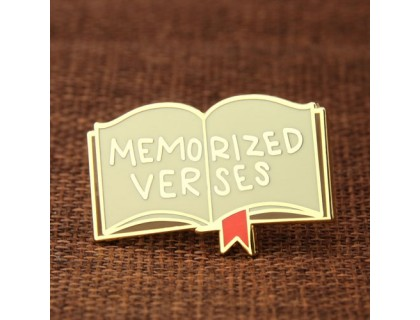Memorized Verses Custom Lapel Pins