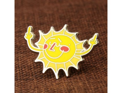 Sun Personalized Pins