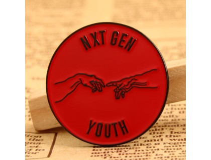 Nxt Gen youth custom lapel pins