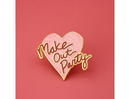 Make Out Party Custom Pins