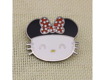 Hello Kitty Personalized Pins
