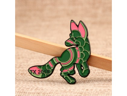 Fashionable Dog Custom Lapel Pins
