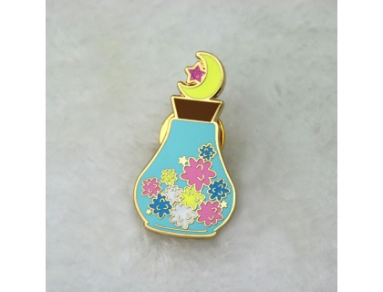 Vase Custom Lapel Pins