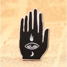 Evil eye custom lapel pins