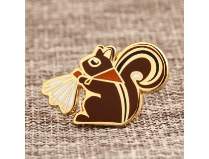 Squirrel Personalized Pins