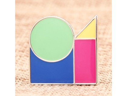 Tangram Personalized Pins
