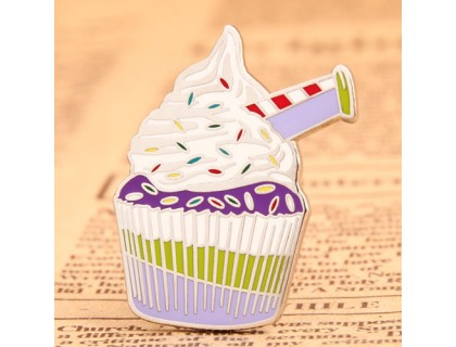 Cupcake Personalized Pins