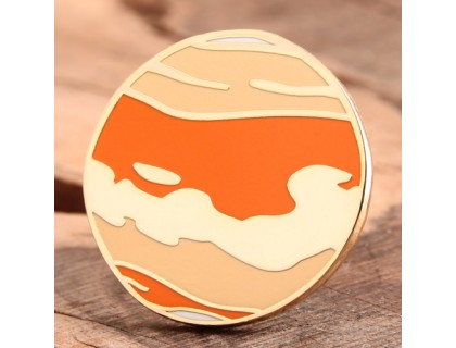Sunset Clouds Custom Pins