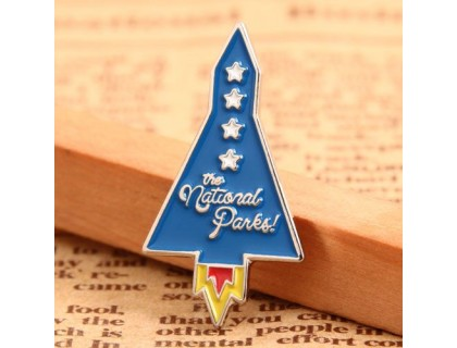 Rocket Custom Pins