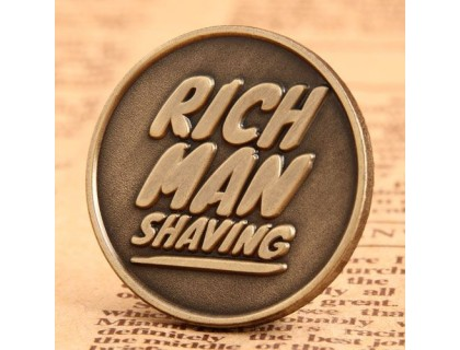 Shaving Custom Pins