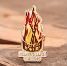 Stagecoach Greens Custom Pins