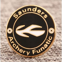 Saunders Custom Pins