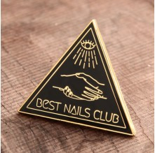 Nails Club Custom Enamel Pins