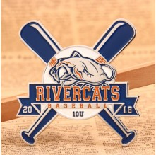 River Cats Custom Pins