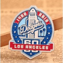Dodgers Custom Pins