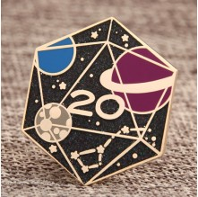 Geometric Shape Custom Enamel Pins