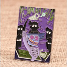 Comic Custom Lapel Pins Low Quantity