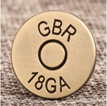 GBR Custom Lapel Pins Small Quantity