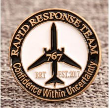 RRT Custom Pins No Minimum Order