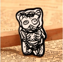 Bone Bear Lapel Pins No Minimum