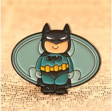 Batman Custom Lapel Pins Low Quantity