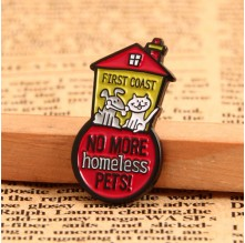 Pet Hospital Lapel Pins No Minimum