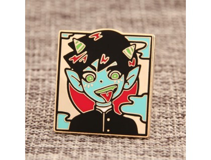 Custom Monster Pins No Minimum Order