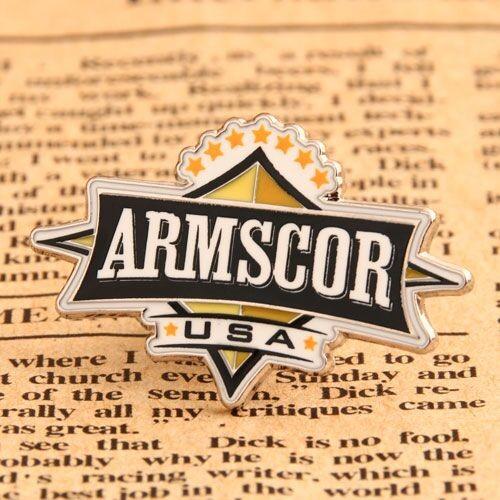 Custom Lapel Pins Small Quantity   Armscor Lapel Pins No Minimum